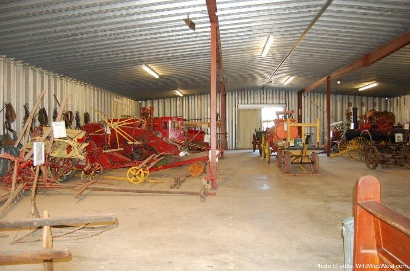 Old Farm Equipment & Tractors on Display