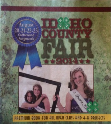 August is Idaho County Fair month.