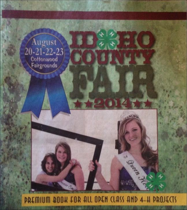 August is Idaho County Fair month.