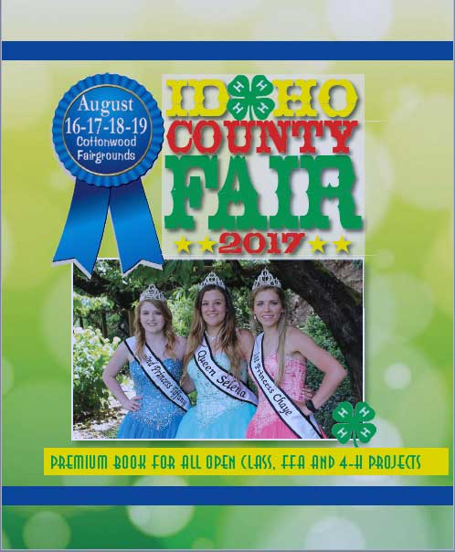 2017 Idaho County Fair Premium Book