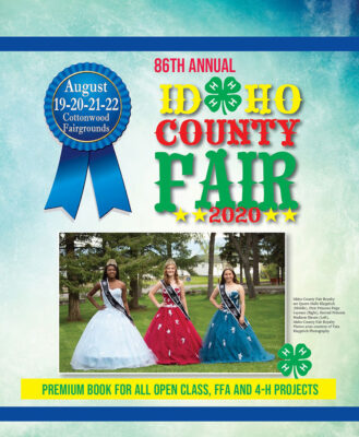 Idaho County Fair Premium Book for August 2020